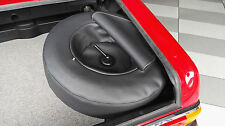 Reserveradabdeckung Mercedes Benz W113 Pagode Kunstleder schwarz