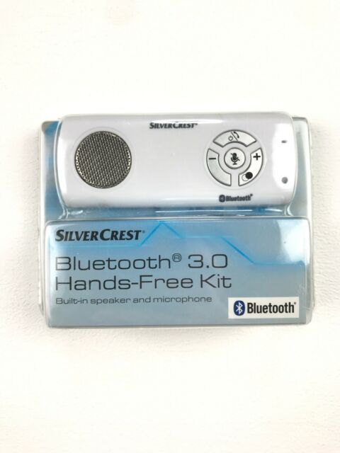 SilverCrest Bluetooth 3.0 kit de manos libres blanco