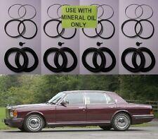 (x4) Rolls Royce Silver Spirit Espuela Bomba Freno Delantera Kits de Reparación 80-98 sellos