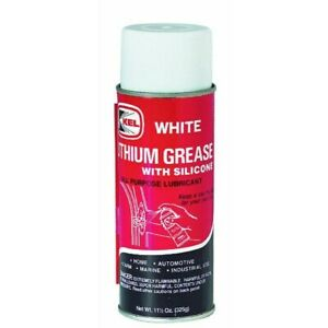White lithium grease vs silicone grease