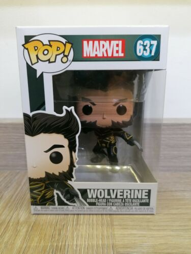 637 Marvel X-Men 20th Anniversary Funko Pop Vinyl Wolverine In Jacket Figure