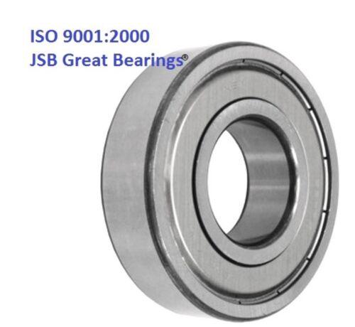 Qty.2 627-ZZ metal shields 627Z quality bearing 627 2Z ball bearings 627 ZZ