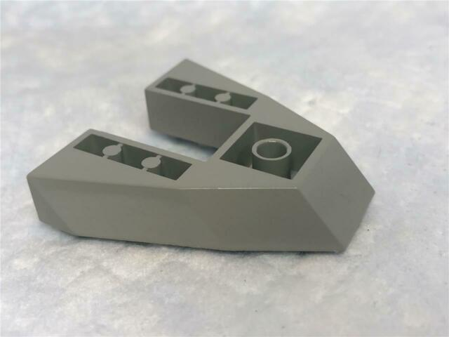 1 Boat Base Bow Plate 6 x 7 LIGHT GRAY 2625 LEGO Parts~ old 2625