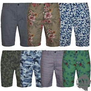 Mens-Shorts-Ex-Zara-Chino-Bottom-Knee-Length-Straight-Pants-Cotton-Casual-Summer