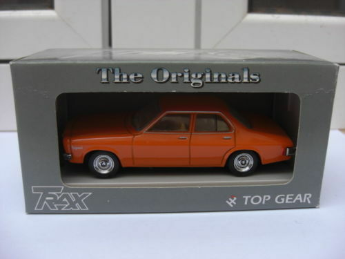 Holden hq 4door limousine Orange trax tr17b mib 1 43 opel - vauxhall ford mega rare