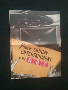 OLD-BEATLES-CONCERT-PROGRAMME-GREAT-YARMOUTH