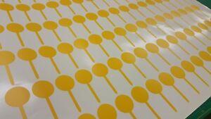 Jam-Honey-Preserve-jar-vinyl-Stickers-write-on-decals-labels-x100-anti-tamper