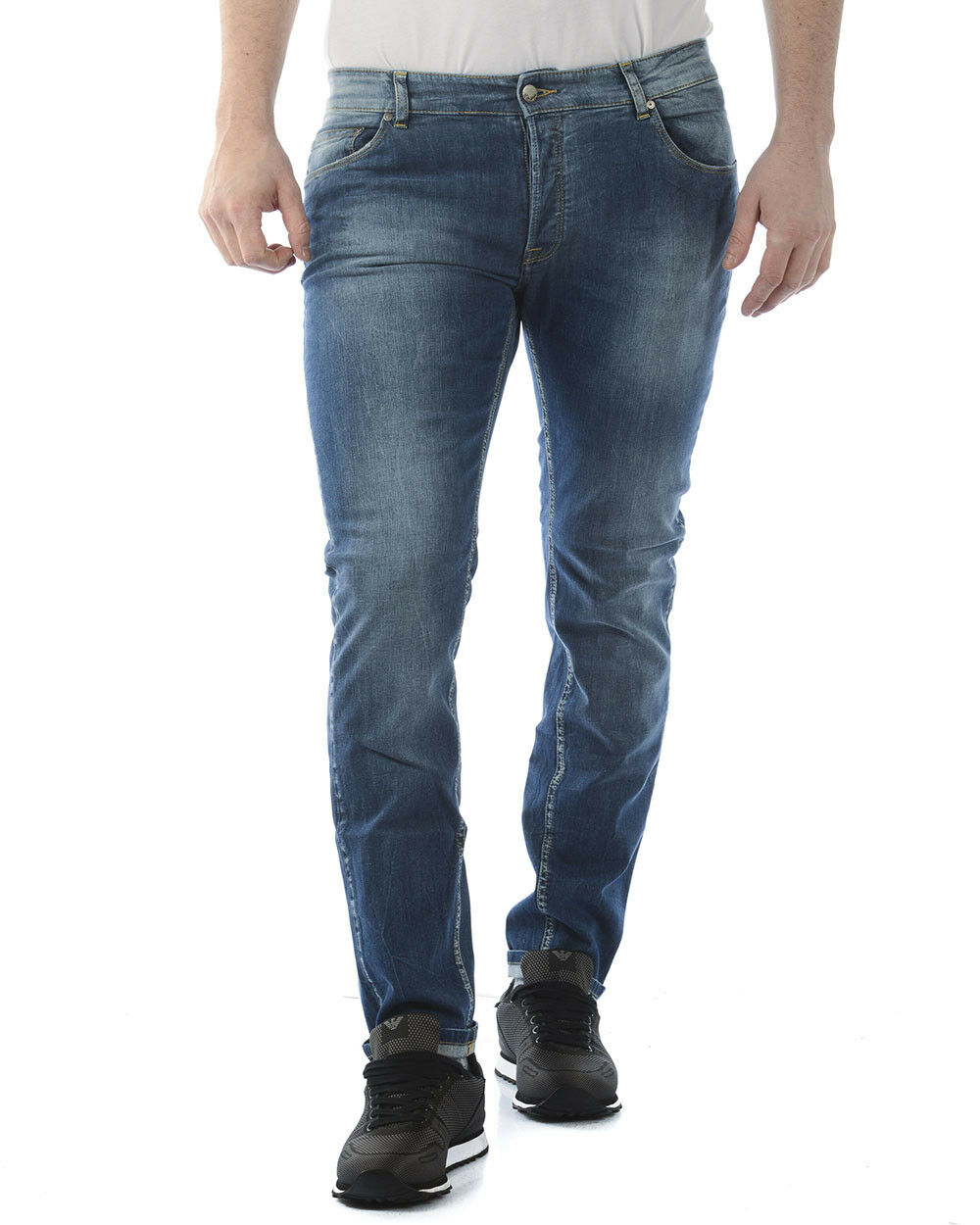 Jeans Daniele Alessandrini Jeans Cotone men Denim PJ4610L4803702 1111