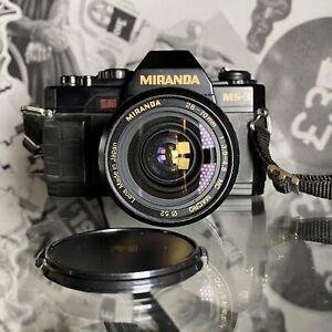 MIRANDA-MS-3-35mm-Pellicola-SLR-Fotocamera-Manuale-28-70mm-Lenti-LOMO-Retro-studente