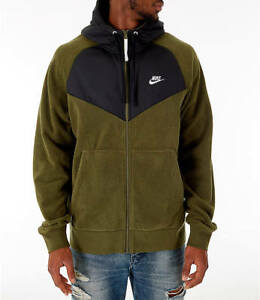 Details zu Nike Winter Fleece Polar Core Windrunner Jacket (929114 395) Size XXL New