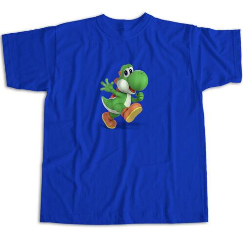 Super Smash Bros Ultimate Brawl Super Mario Classic Yoshi Unisex Tee T-Shirt