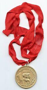 """DDR Medaille - """" Kinderferienlager - Höher / Schneller / Weiter """""""