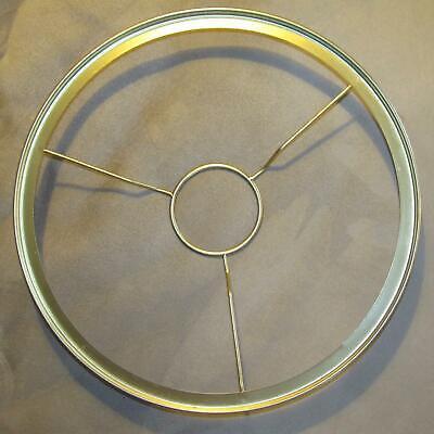 GENUINE ALADDIN 10 inch Brass Ring Shade Holder alladin oil kerosene lamp 401rb