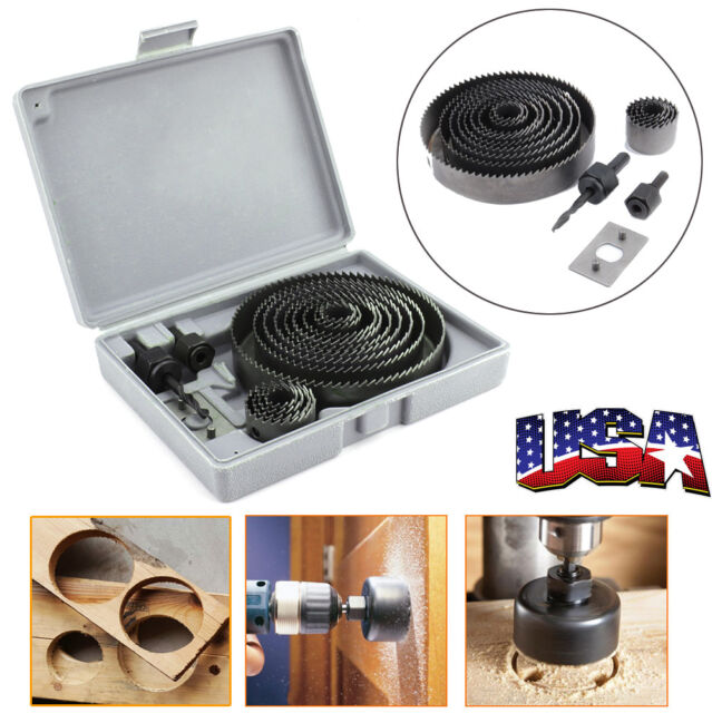 Woodworking Mace Drill Bit Grinding Part Tool Kit For Wood Metal Drilling Hole