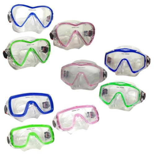 Mask Snorkeling Scuba Diving Pink Green Blue Typhoon Sports Youth Adult Teen