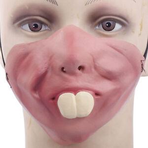maschera bocca denti