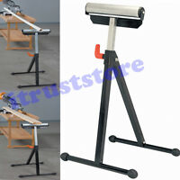 Folding Work Workload Support Table Saw Bearing Roller Wheel Stand Adjustable