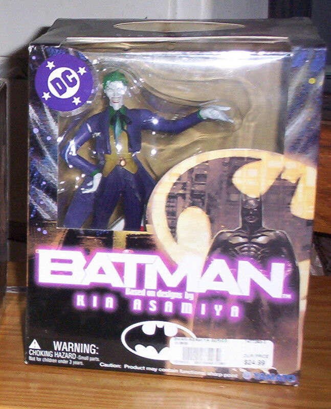DC SUPERHEROES BATMAN KIA ASAMIYA THE JOKER ACTION FIGURE