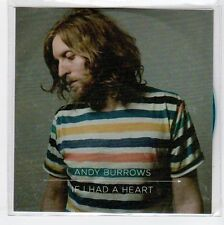 (EA909) Andy Burrows, If I Had A Heart - 2013 DJ CD
