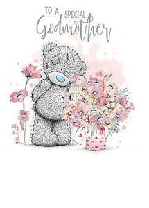 Image Is Loading To A Special GODMOTHER Small Tatty Teddy Me