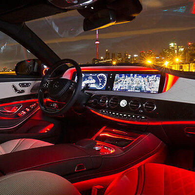 Cool Red Led Tube Interior Light For Mecerdes W204 W205 C