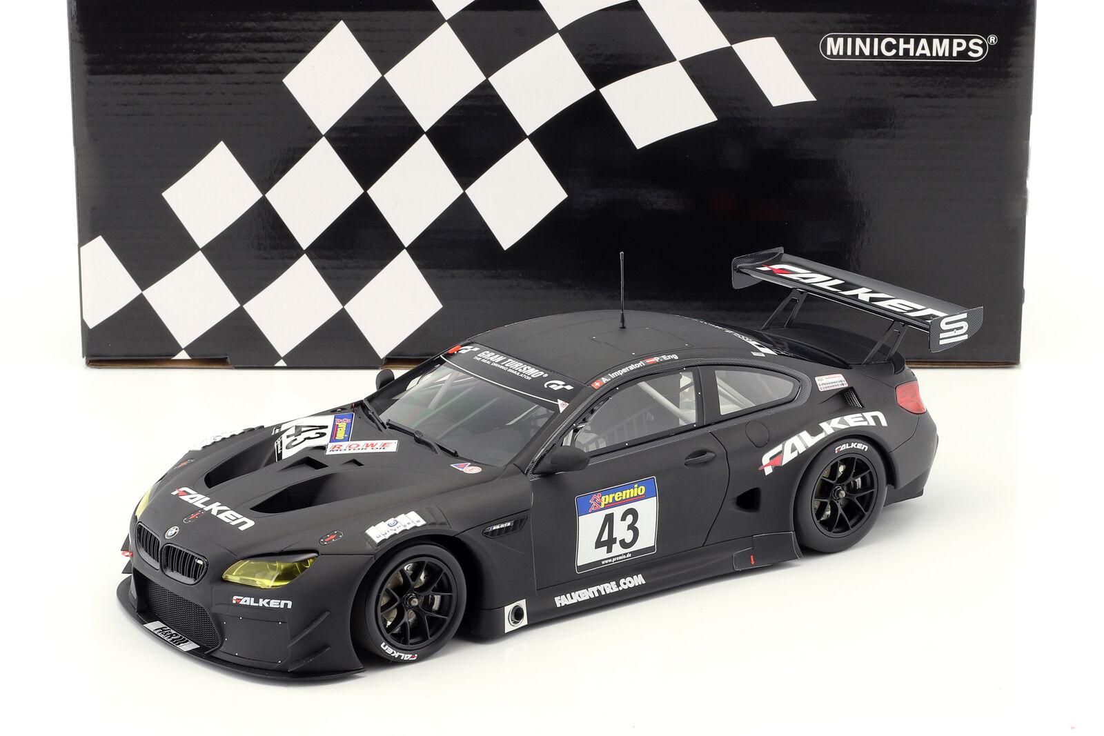 BMW M6 GT3  43 Dmv 250 Meilen Rennen Vln 2016 Imperatori, Eng 1 18 Minichamps