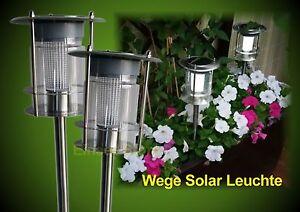 Luci Da Esterno Giardino Solari : Solare lampada da strada led illuminazione sentiero esterni