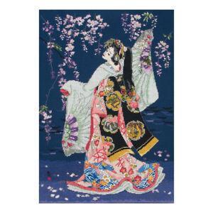 Maia Collection Yumezakura Counted Cross Stitch Kit ANCHOR