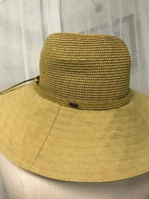 1bfb07c5f885f Scala Collezione Women s Hat Khaki Wide Brim Hat O S Fits Most NWOT ...