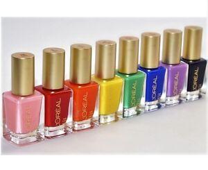 Image Is Loading L 039 Oreal Colour Riche Nail Polish Choose