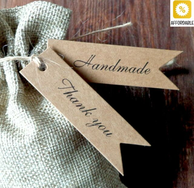 Gift Tags Kraft Party Wedding Message Hand Tag Craft Cards