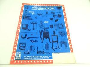 Vintage m c shop tools and equipment motorcycle brochure for A and m salon equipment