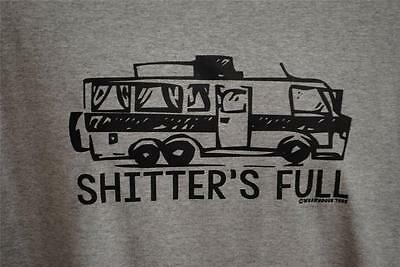 FUNNY Shitter's Full Clark Griswold Christmas Vacation Cousin Eddie RV T Shirt