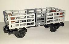 LEGO Train Custom Open Multi Use Goods Or Vehicle Wagon Railway Truck Carriage