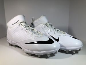 5a11666cdac3 New Mens Nike Lunar Superbad Pro TD Football Cleats White Black ...