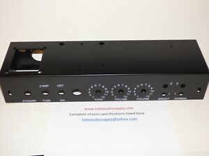 5E3-Chassis-For-TWEED-DELUXE-SATIN-BLACK-FENDER-5E3-CLONE-USA-made