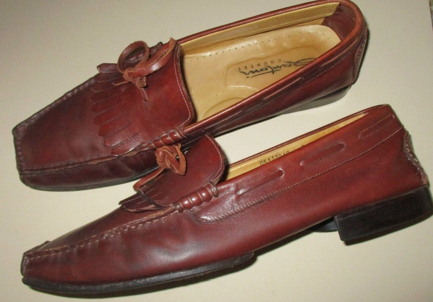 Santoni Country Loafers-Size 11.5 D-Italy