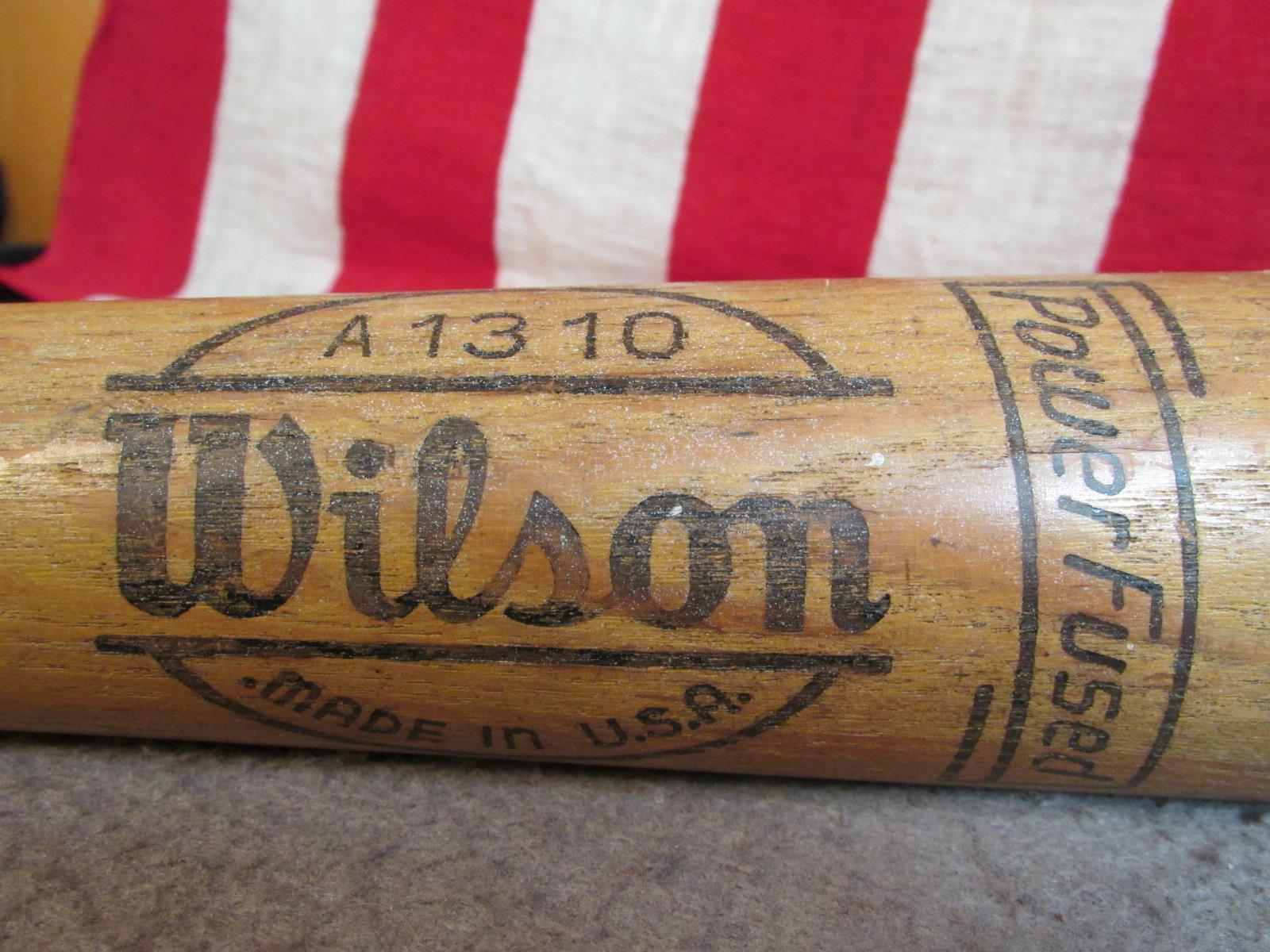 Vintage Wilson Holz Berühmte Spieler Baseballschläger Ferris Fain Special Modell