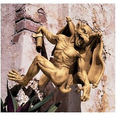 Gargoyle Wall Prop Display. Gothic Medieval  Home Statue Products & Sculptures.