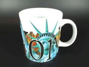 NEW York in rilievo tazza di caffè bicchieri, souvenir tazza, Statua della Libertà, 500 ML!!!
