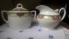 Servizio da tè porcellana MZ Altrohlau Czechoslovakia Tea Set Porcelain Vintage