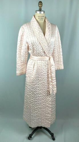 Vintage Quilted Robe MISS ELAINE Small Bed Jacket