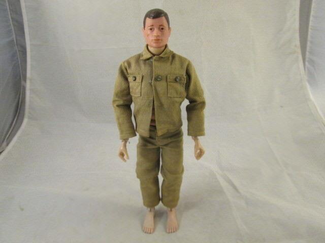 1964 Hasbro Gi Joe cicatriz en la Cochea Hecho en EE. UU. viene con uniforme