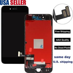 US-For-iPhone-8-Plus-Digitizer-LCD-Display-Touch-Screen-Assembly-Replacement-Lot