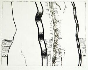 Kunst-in-der-DDR-Radierung-von-Michael-MORGNER-1942-D-handsigniert