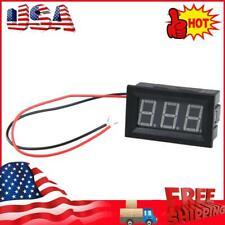 Dc 30 30v Voltmeter Blue Light Mini Digital Display Panel Voltage Meter