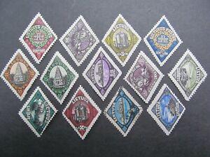 Litauen Nr. 196-208, 1923, gestempelt *CC310*