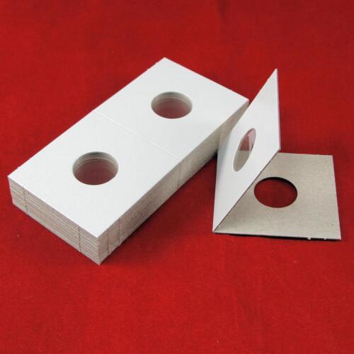 "25 Cardboard 2 x 2 Coin Holder Mylar Flips for US Dimes 18mm or .708/"""