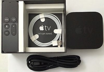 Apple TV 4th Generation 32GB with Siri Remote (Latest Model) MGY52L/Software 9.0