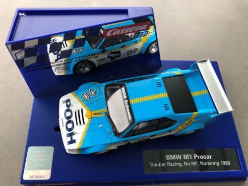 "Carrera Digital 132 30830 BMW M1 Procar /"" Propre Course N°90 /"" Norisring 1980"